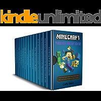 Minecraft: 14 Book Mega Minecraft Box Set: Minecraft Wimpy Zombies, Minecraft Creeper, Minecraft Steve, Minecraft the island, Minecraft Enderman, Minecraft Wimpy Ender Dragon, Minecraft Crash