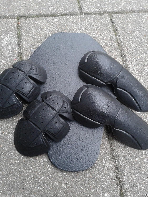 con protezioni in fibra aramidica Dupont/™ Kevlar/® nero conforme CE giacca da motociclista con cappuccio Australian Bikers Gear XL = 117-122/cm interamente foderata
