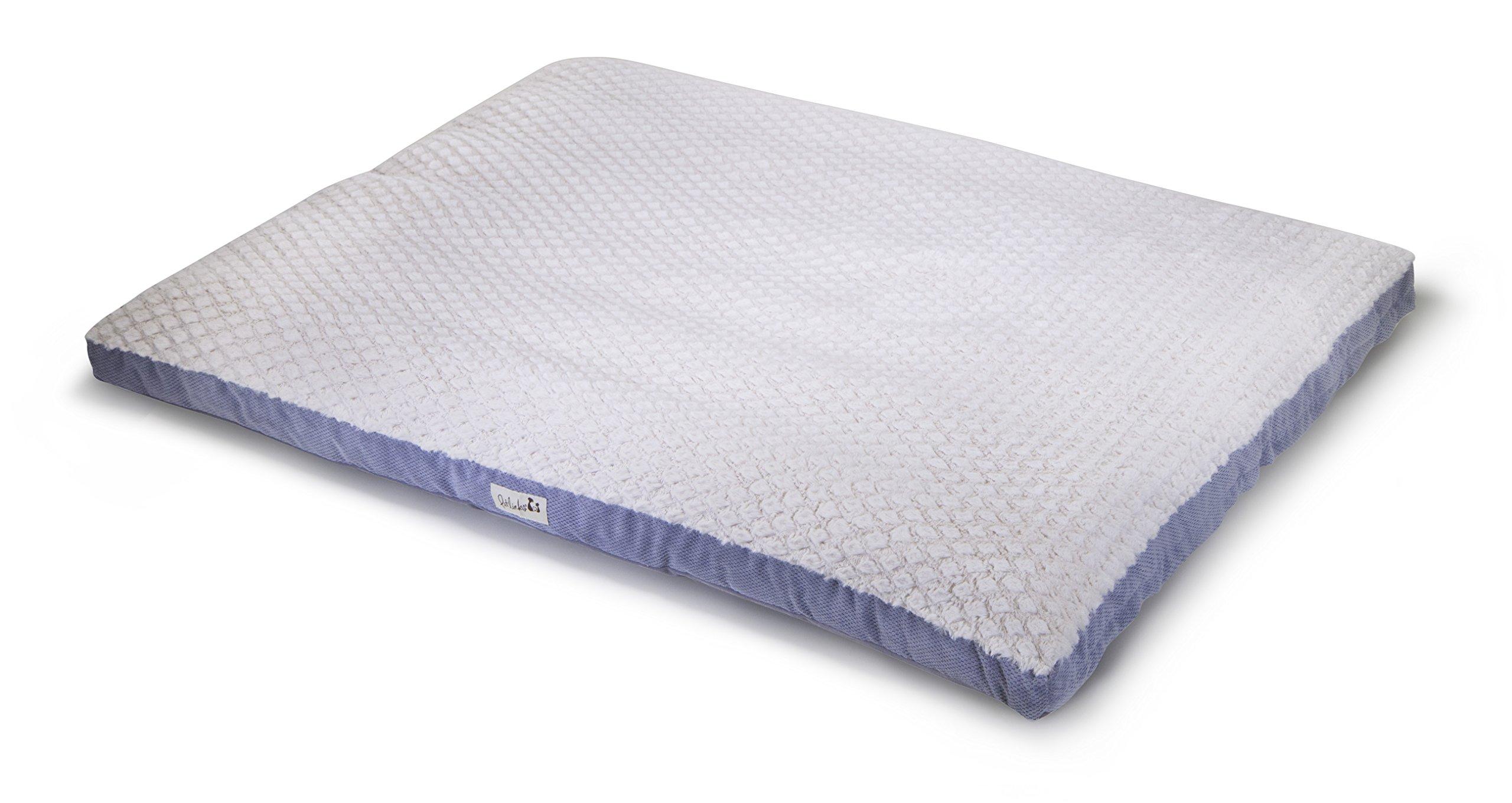 Petlinks Thera Max Memory Foam Pet Bed, Extra Large, Gray