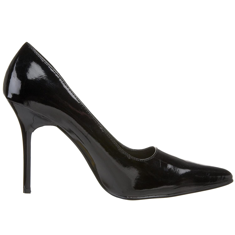 The Highest Heel Women's Classic Pump B000T86KUC 5 B(M) US Black Patent