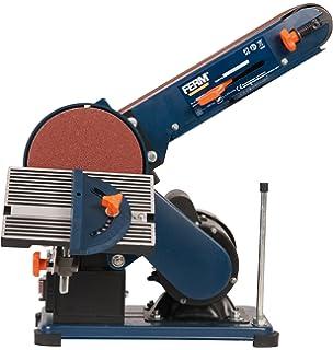 2 inch belt sander. ferm bgm1003 bench sander - 375w 150mm adjustable sanding belt angle guide and 2 inch l