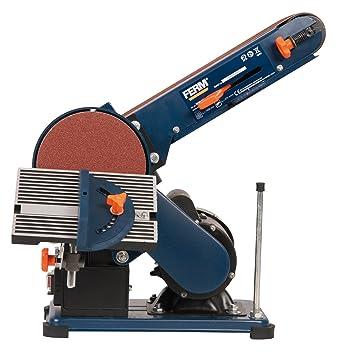 ferm bgm1003 bench sander 375w 150mm adjustable sanding belt