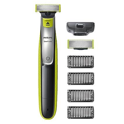 Philips OneBlade QP2530 30 - Recortador de Barba con 4 Peines de 1 e5ba788336fe