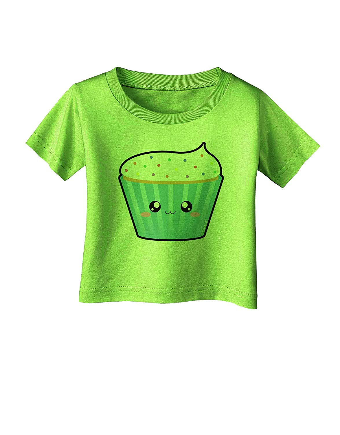 TooLoud Cute Cupcake with Sprinkles Infant T-Shirt