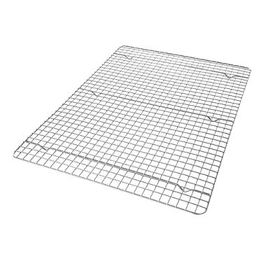 USA Pan 1603CR-1 X-Large Bakeable Nonstick Cooling Rack, XL Sheet, Metal