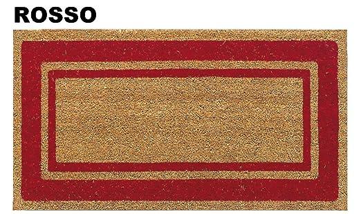 19 opinioni per Zerbino in cocco SUPER cm 50X90 [ROSSO]
