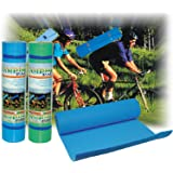 Sunta Eva Camping Pad Roll Mat (5.76 Ft x 1.89 Ft x 8mm)- with 2 Straps for re Folding and Feather lite Weight- 650 gm