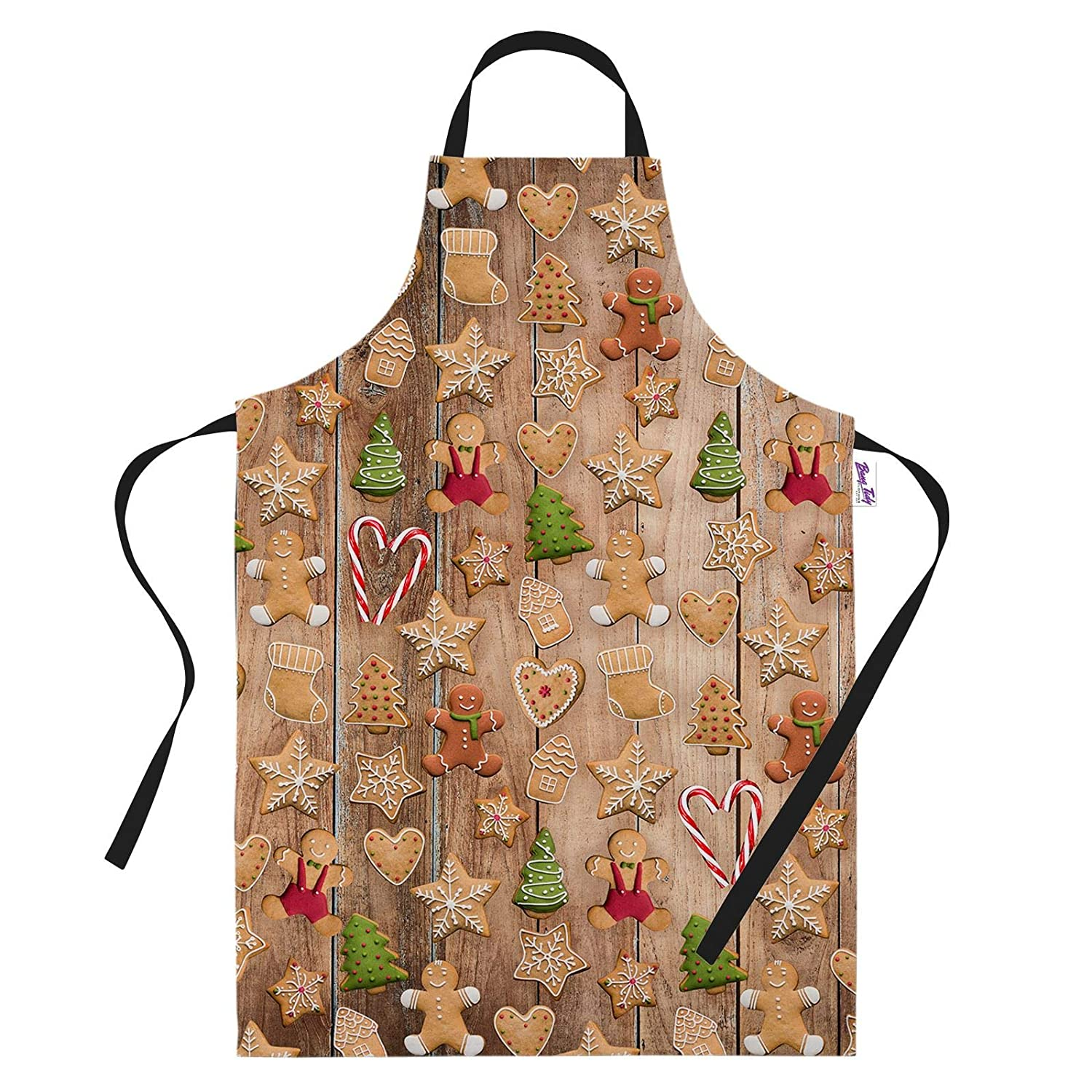Bang Tidy Clothing Funny Christmas Cooking Apron for Women & Men Novelty Xmas Christmas Treats