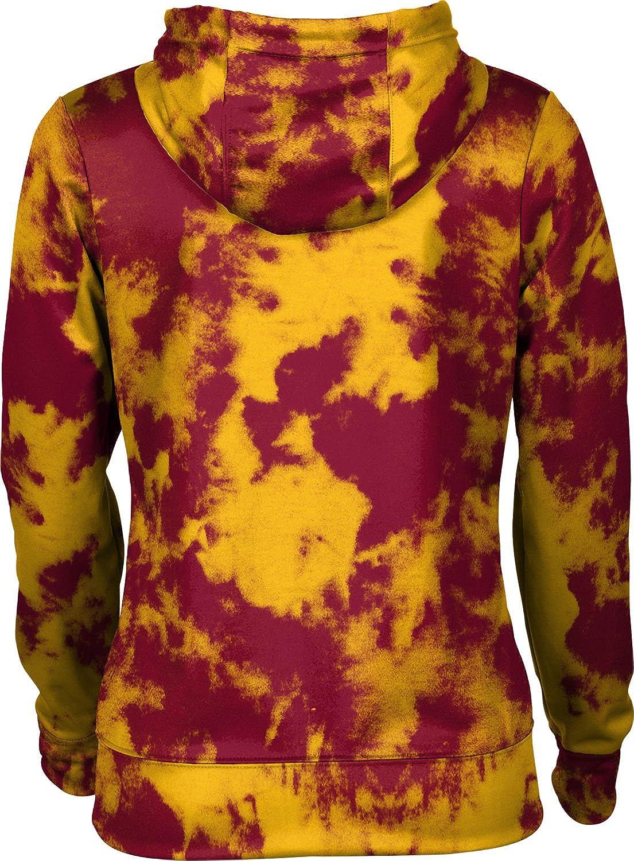 ProSphere Midwestern State University Girls Zipper Hoodie School Spirit Sweatshirt Grunge
