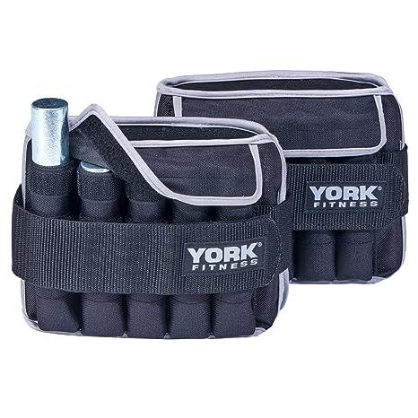 come scegliere codici promozionali selezione straordinaria York Fitness 2 x 5kg Cavigliere con pesi