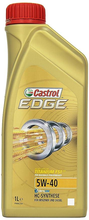 Castrol EDGE Aceite de Motores 5W-40 1L (Sello alemán) - descontinuado por