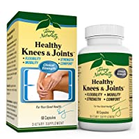 Terry Naturally Healthy Knees & Joints - 1,560 mg Curcumin & Boswellia Complex, 60 Capsules - Promotes Flexibility, Mobility, Strength & Comfort - Gluten-Free - 20 Servings