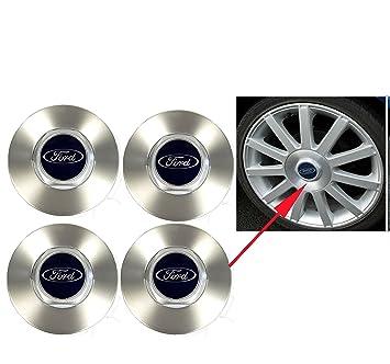 Juego de auténtica para Ford Fiesta ST150 Focus Cmax Focus llantas de aleación Centro Caps x4 2005 - 2008 1333899: Amazon.es: Coche y moto