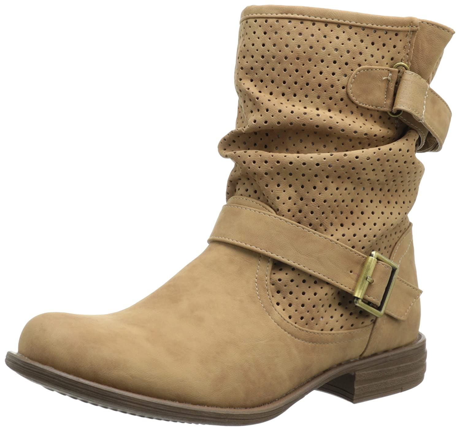 Skechers Mad Dash  Damen Halbschaft Stiefel  36 EU|Braun (Tan)