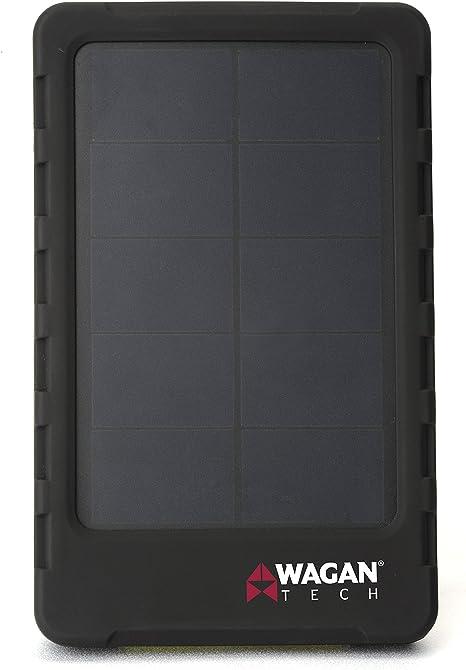 Amazon.com: WAGAN Wagan Tech Solar E Cargador solo: Automotive
