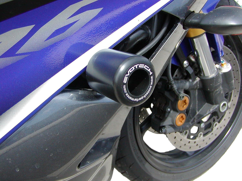 Evotech Performance Frame Crash Protection Bun000068 Years 2006-2016 to fit Yamaha R6 No Drill