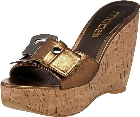 Moda Spana Women's Sleek Wedge Sandal