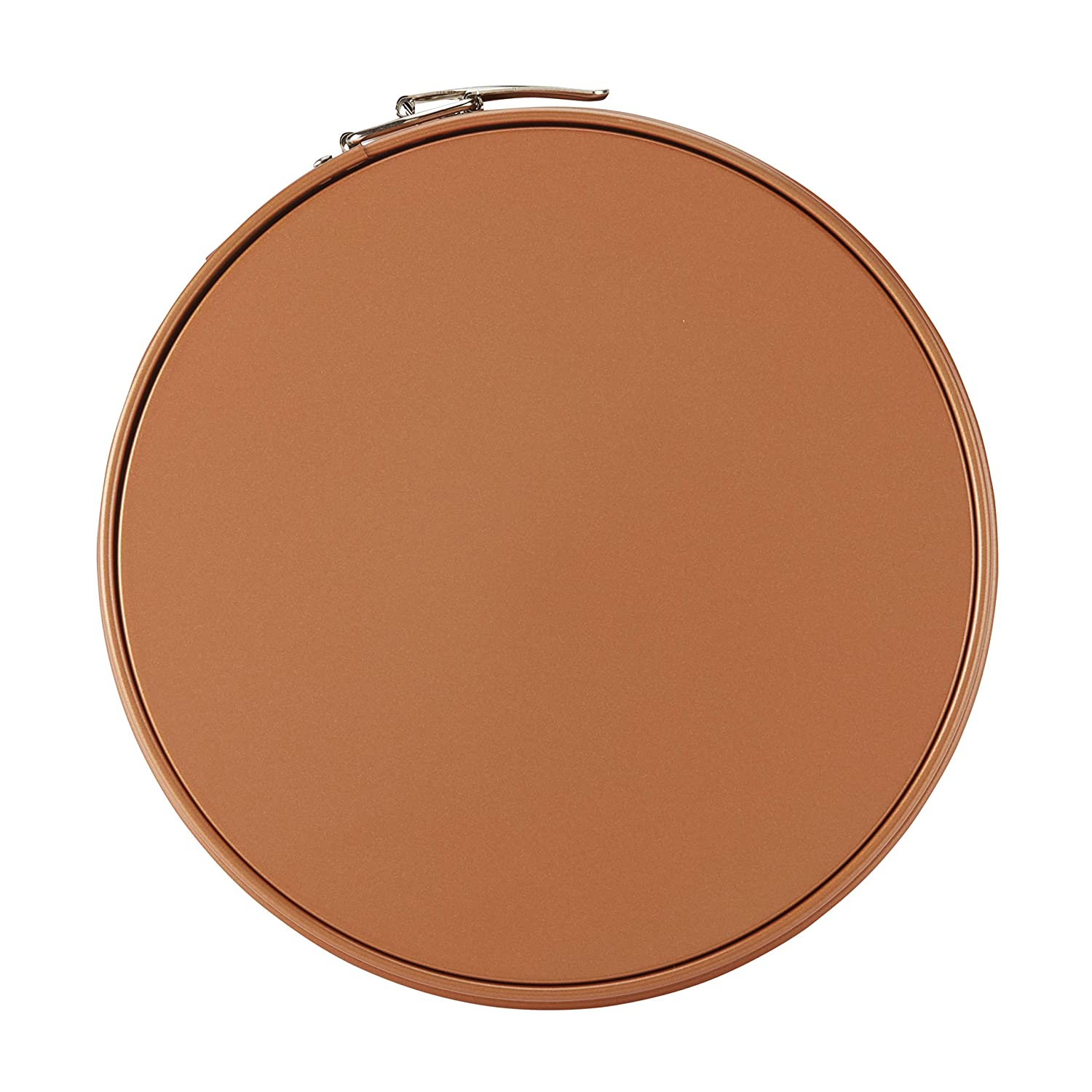 Copper Round Ayesha Curry 47706 Nonstick Bakeware Nonstick Springform Baking Pan//Nonstick Springform Cake Pan//Nonstick Cheesecake Pan 9 Inch