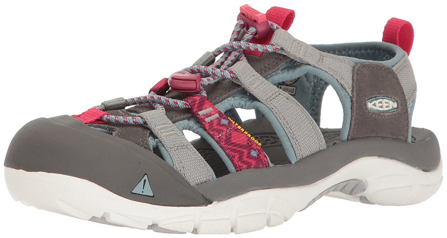 KEEN Women's Newport Evo H2 Hiking Shoe B01H7A57SU 5 B(M) US|Neutral Gray/Raspberry