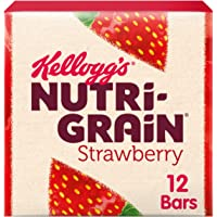 Kellogg's Nutri-Grain Fruity Breakfast Bars Strawberry, 12 x 37g Bars
