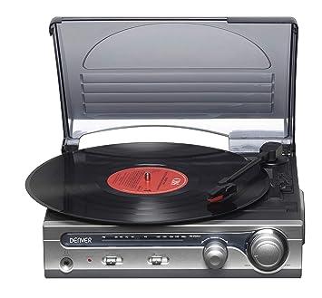 Denver VPR-130 tocadisco - Tocadiscos (305 x 288 x 126 mm ...