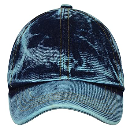 15b324e347c Buy Eccellente Unisex Denim Baseball Cap (Blue) Online at Low Prices in  India - Amazon.in