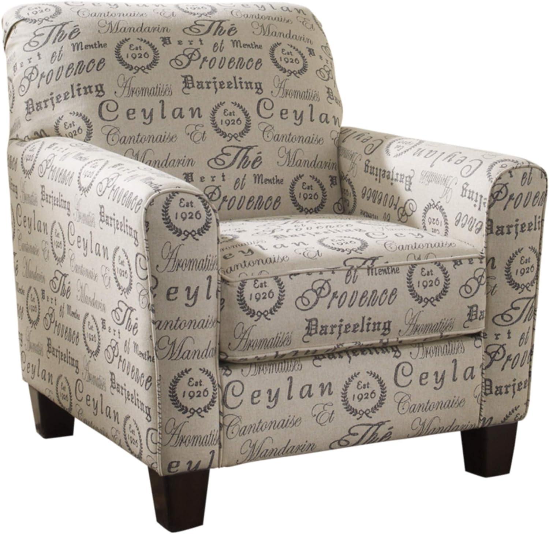 Ashley Furniture Signature Design - Alenya Accent Chair - Tight Back - Quartz