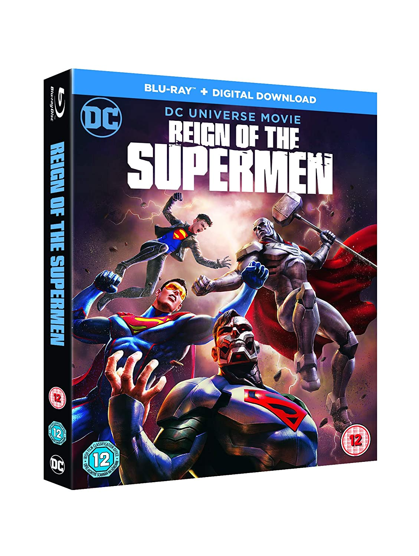 Amazon.com: Reign of the Supermen [Blu-ray] [2019]: Cameron ...
