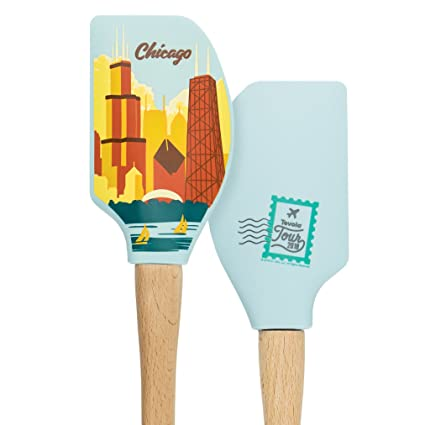 Tovolo 81 28463 Chicago Spatulas Turners One Size Wood