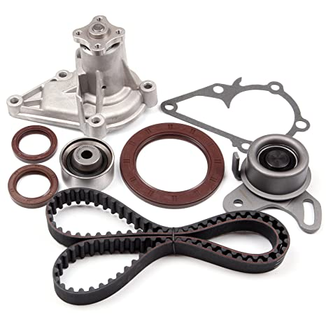 Amazon.com: ECCPP Timing Belt Water Pump Kit Fit for1996-2011 Hyundai Accent Kia Rio DOHC G4ED: Automotive