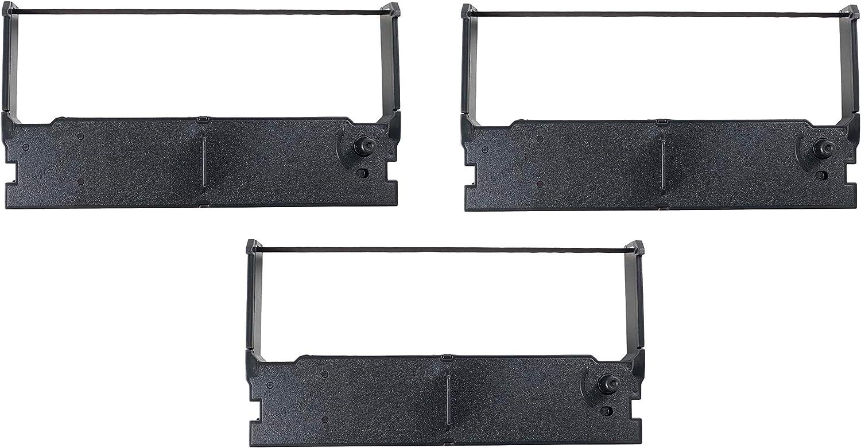Sam4s 3-Pack ER-5115II Ribbon, Ribbon, Ink, Cartridge, Compatible with TEC MA-1350, MA-1530, MA-1535, ERC-32, ERC32, Epson M820, TM-935, TM-U150, TM-U420, TM-U675, TM-H6000, TM-H6000II (Purple)