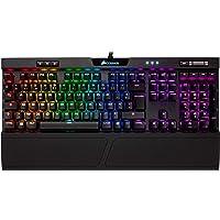 Corsair K70 RGB MK.2 Clavier Mécanique Gaming (Cherry MX Speed: Rapide et très précis, Rétro-Éclairage RGB Multicolore, AZERTY FR Layout) - Noir