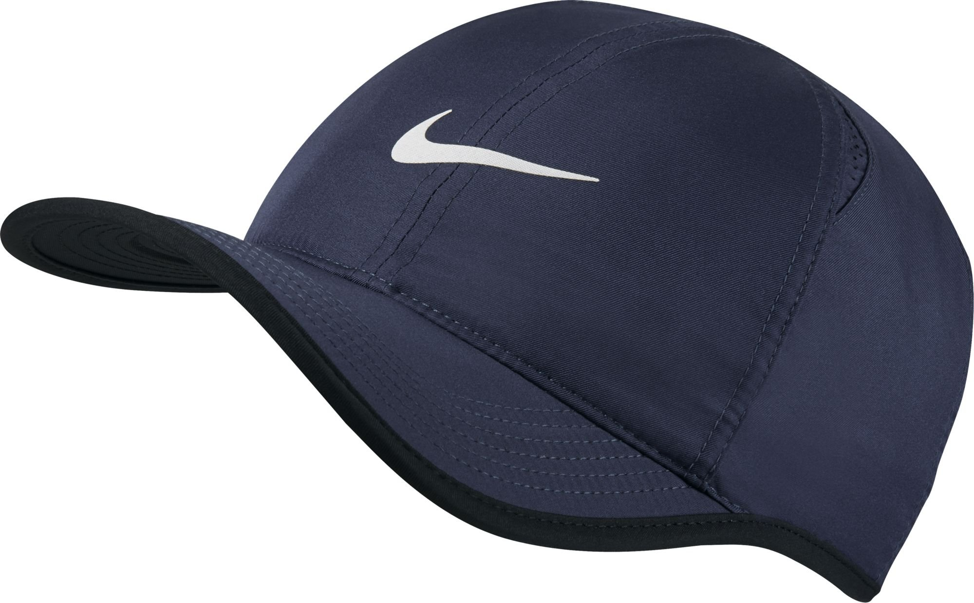 Nike Mens Feather Lite 2.0 Adjustable Hat Midnight Navy/Black/White 679421-475