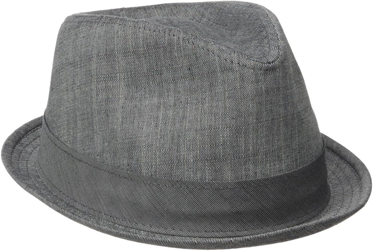 Henschel Mens Cotton Denim Fedora