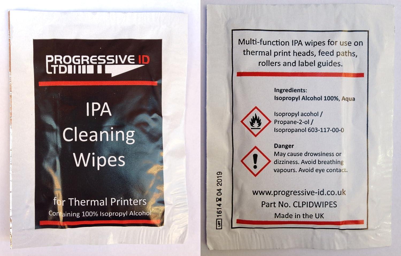 Impresora térmica cabezal de impresión de limpieza toallitas ...