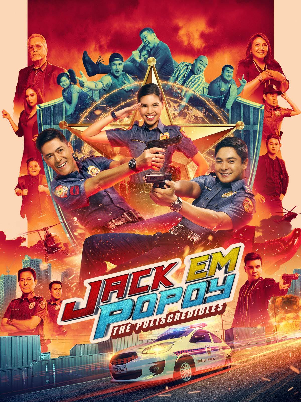 Amazon Com Jack Em Popoy The Puliscredibles Coco Martin Vic Sotto Maine Mendoza Arjo Atayde