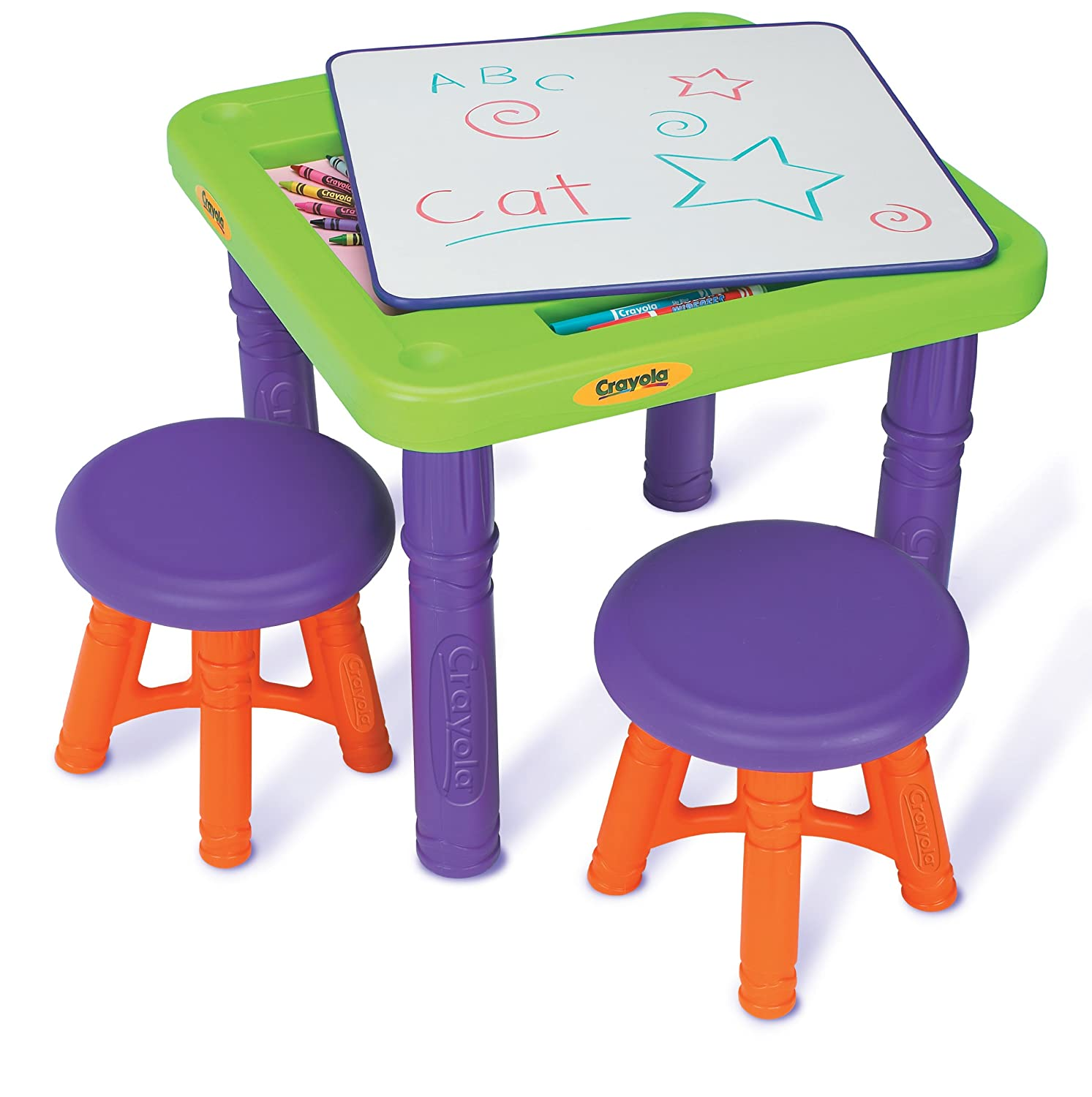 Amazon Crayola Sit And Draw Play Table Toys & Games