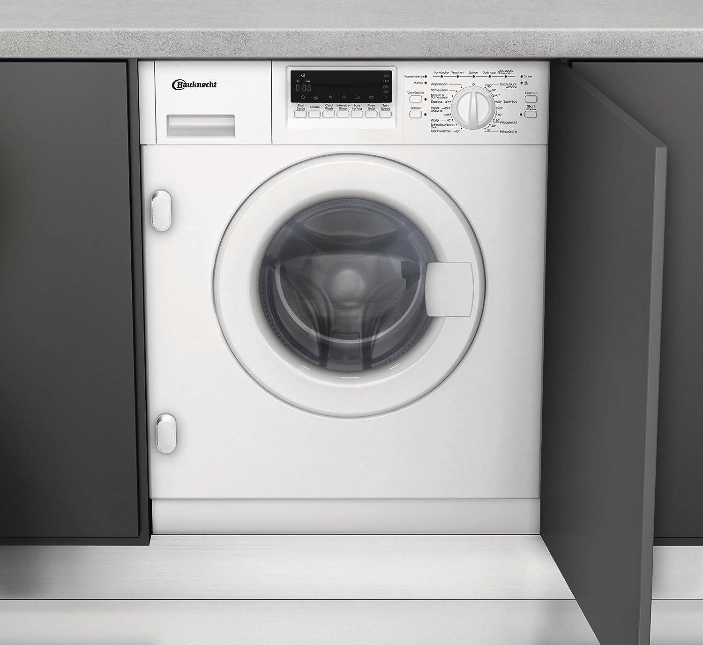 bauknecht wai 2642 einbau-waschmaschine / a++ b / 1400 upm / 7 kg ... - Waschmaschine In Küche Integrieren