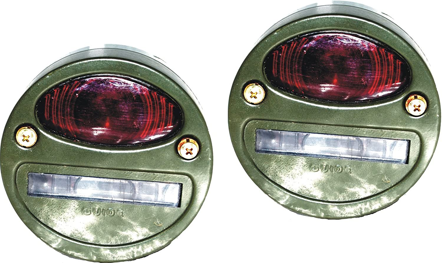 NEW WILLYS MB FORD GPW JEEP TRUCK MILITARY CAT EYE REAR TAIL LIGHT 4/'/' #G29 @PUM