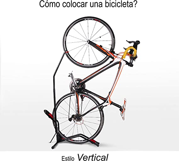 Stryser - Soporte bicicletas suelo Aparcamiento vertical con ...