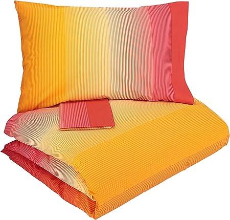 Copripiumino Matrimoniale Arancione.Gabel Parure Copripiumino Arancione Giallo Matrimoniale Amazon