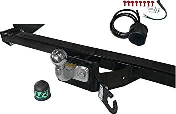 Umbra Rimorchi Nissan Qashqai+2 2-4WD 2007 to 2013 Detachable Towball Towbar with 7 pin Bypass Relay UT260COR29ZCM//WU800UK2
