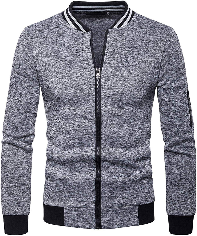 Sweatshirt Mens Zipper Pocket Splicing Pullover Long Sleeve Sweatshirt Sport Tops Autumn Winter Mens Warm Coats