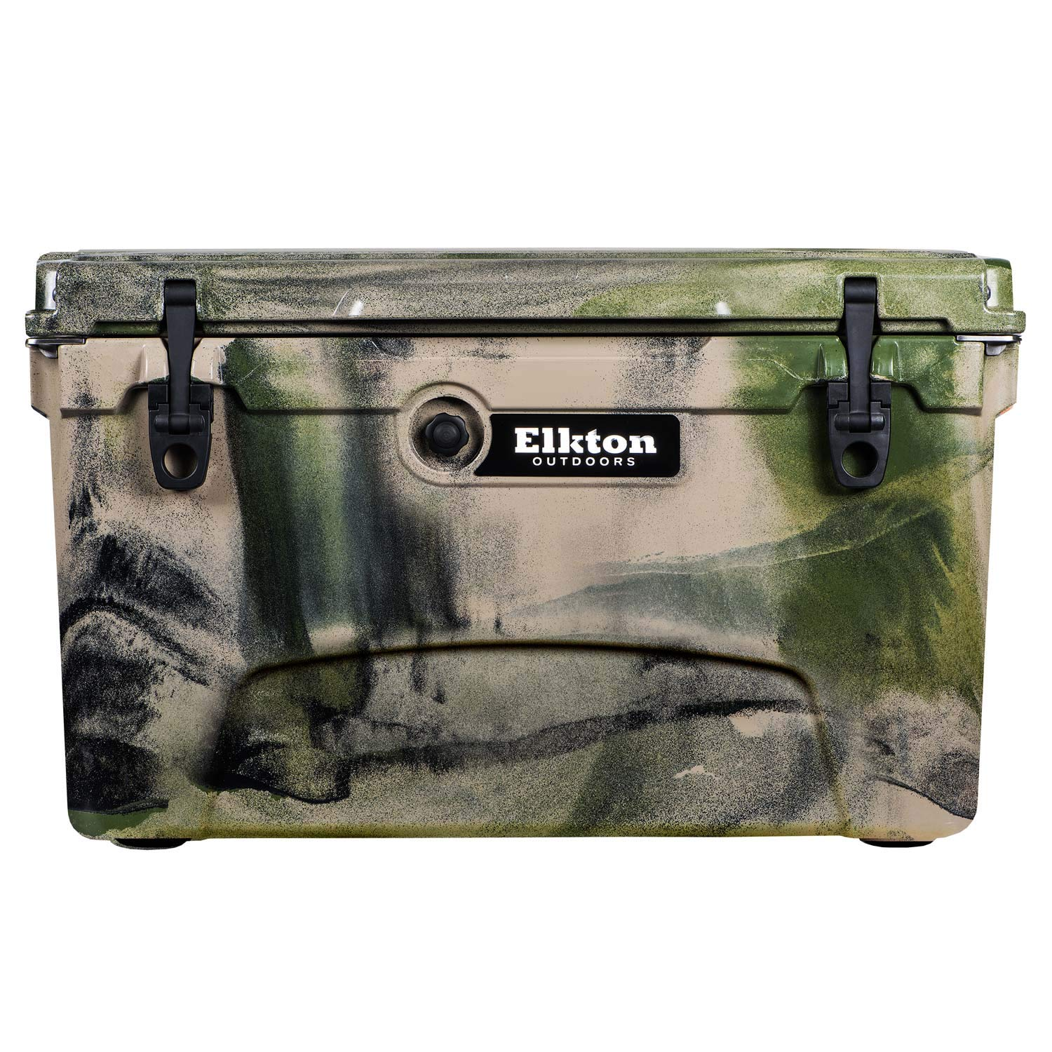 Heavy Duty High Performance Roto-Molded Commercial Grade Insulated Cooler 45-Quart Green Elkton Outdoors Ice Chest