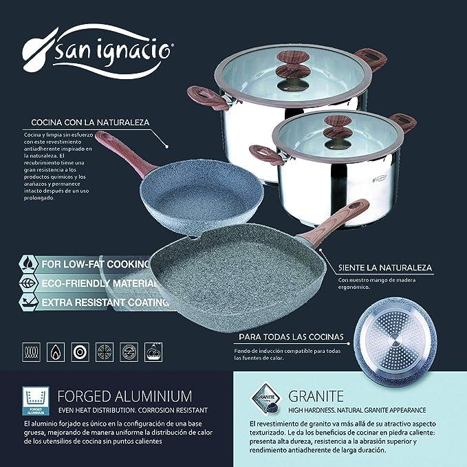 Amazon.com: Granito by Bergner Home Premium Forged Aluminum ...