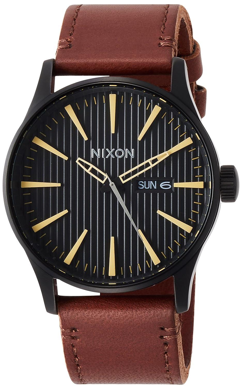 [ニクソン]NIXON 腕時計 Sentry Leather NA1052664-00【正規輸入品】 B071F9BCFT
