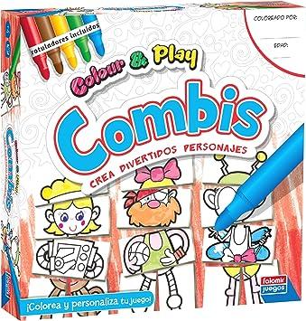 Falomir Color & Play Combis, Juego de Mesa, Manualidades, multicolor (1) , color/modelo surtido: Amazon.es: Juguetes y juegos