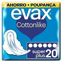 Evax Cottonlike Superplus Compresas con Alas - 20 Unidades