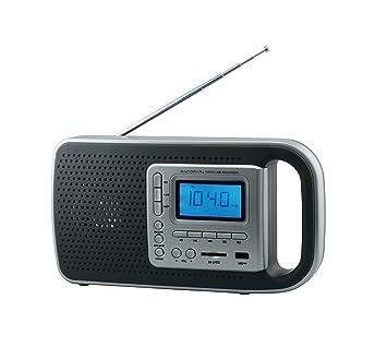 Daewoo DRP-121 Reloj Negro, Gris - Radio (Reloj, LED, Negro ...