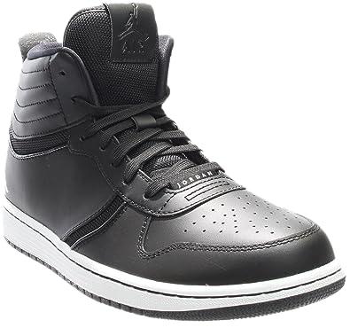 size 40 bef6b 4e789 Chaussures De Sport NIKE JORDAN HERITAGE Pour Homme - Noir Blanc - Taille  44 EU